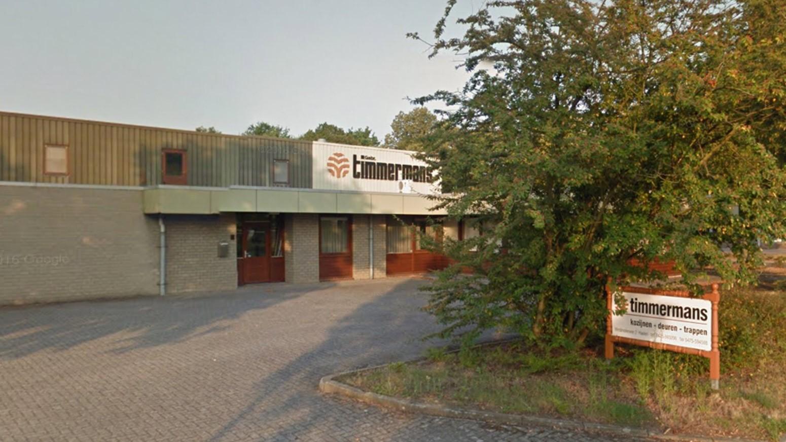Vooraanzicht Van Bouwbedrijf Timmermans In Haelen