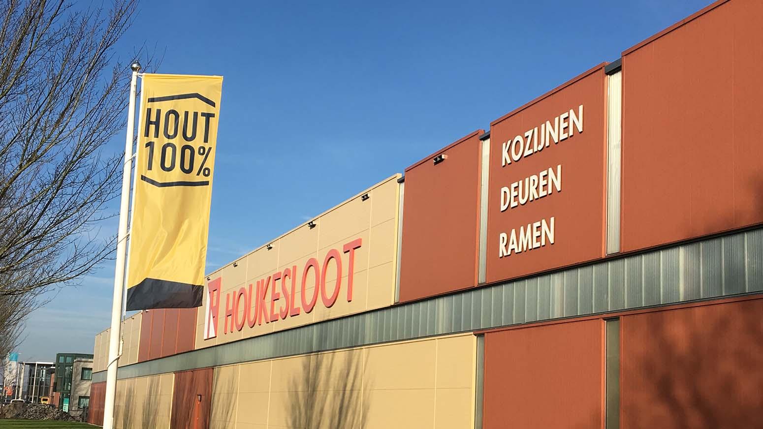 Foto Van Bedrijfspand Houkesloot Toelevering B.V. Gelegen In Sneek.