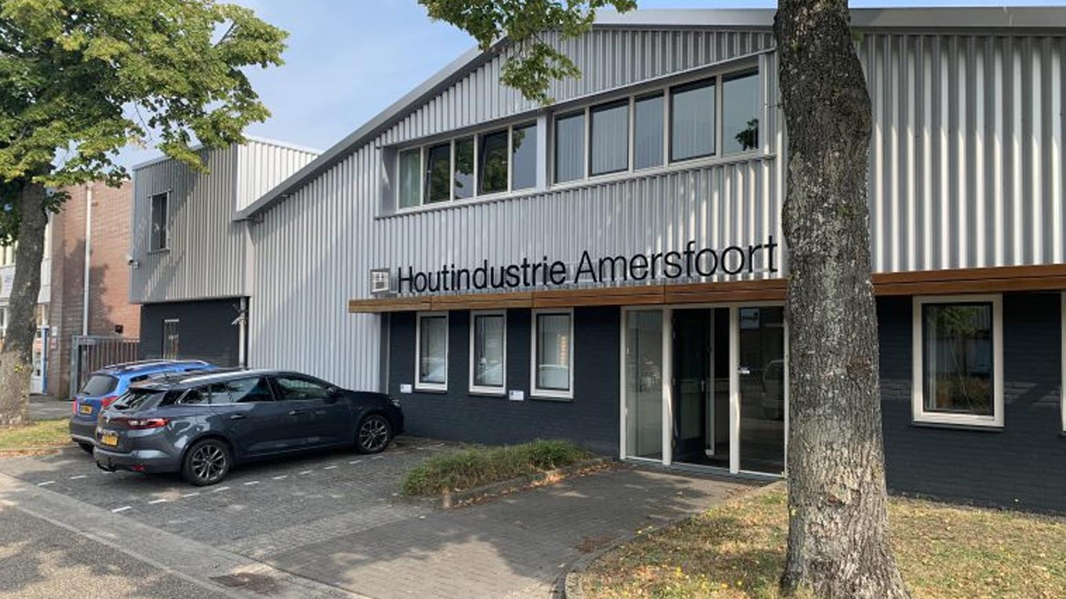 Gebouw Van Houtindustrie Amersfoort
