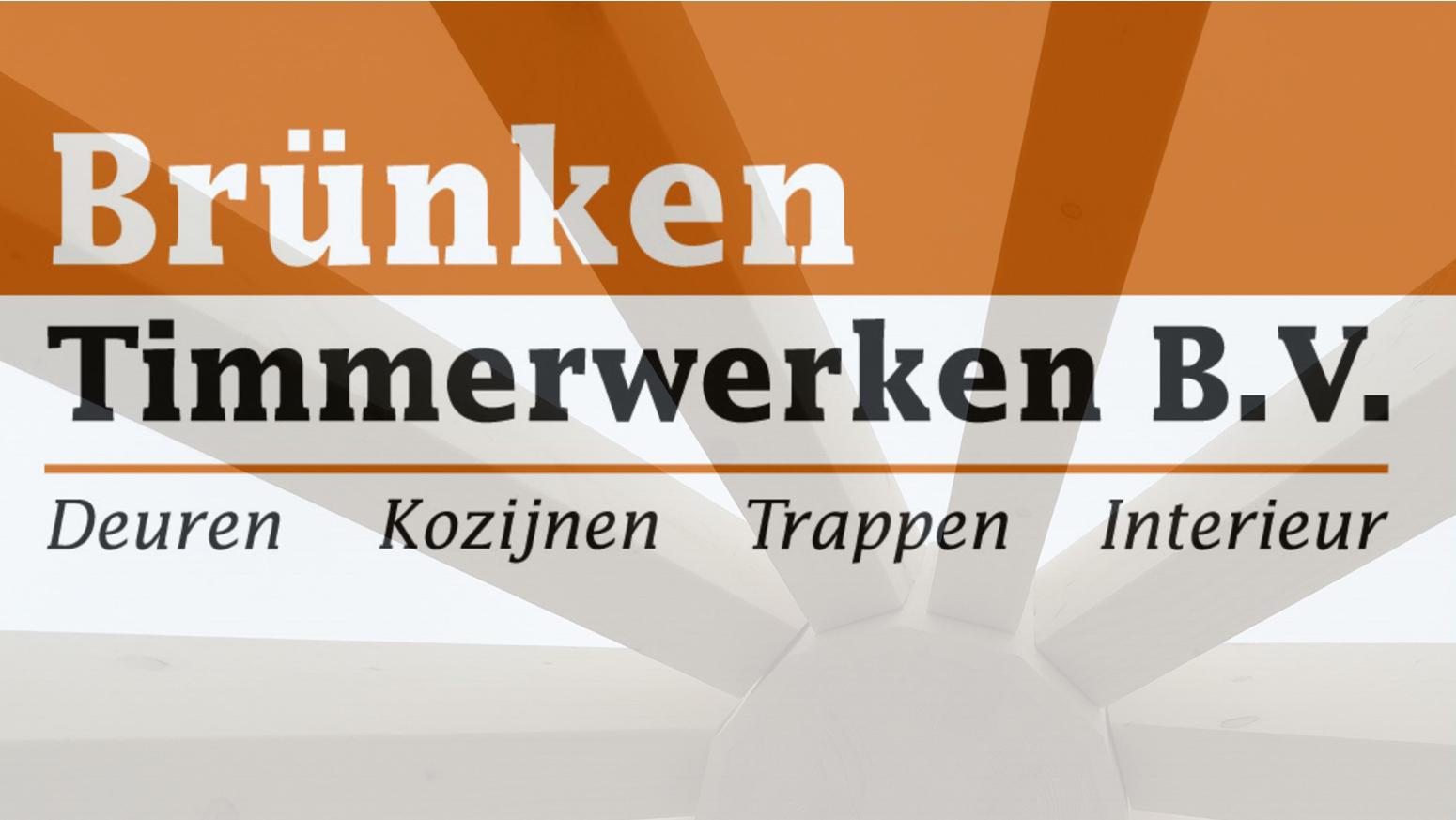 Banner Brünken Timmerwerken B.V Venlo