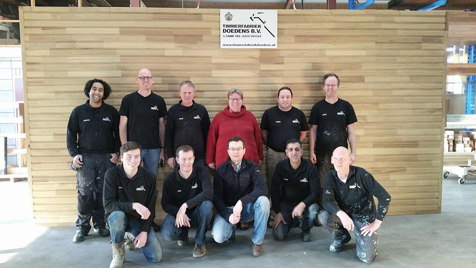 Medewerkers Timmerfabriek Doedens B.V. 't Zand