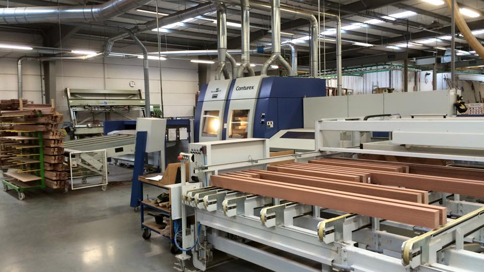 Werkplaats Van Timmerfabriek Vermeer B.V. In Renswoude