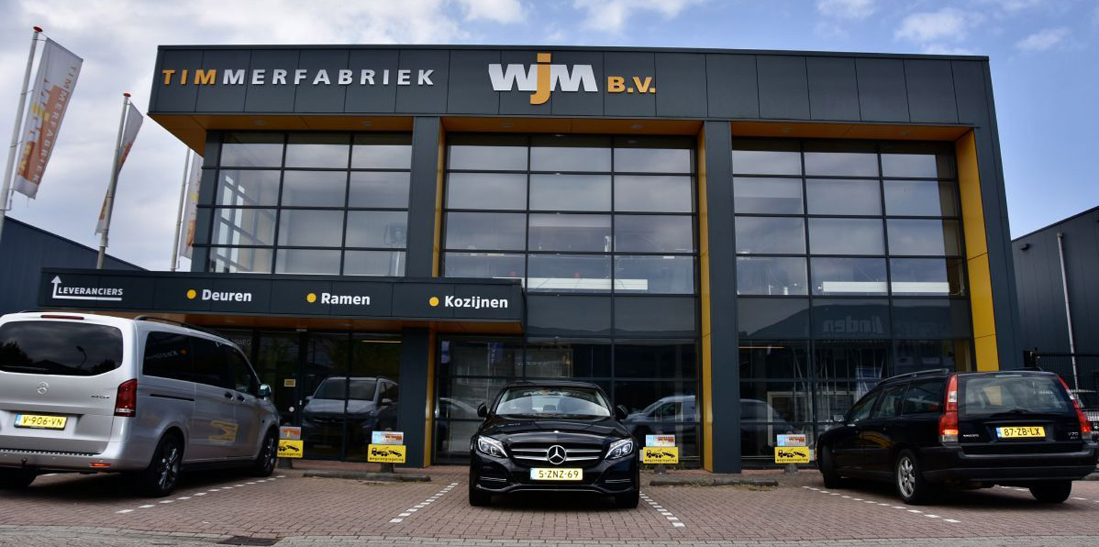 Foto van voorzijde bedrijfsgebouw Timmerfabriek W.J.M. B.V.