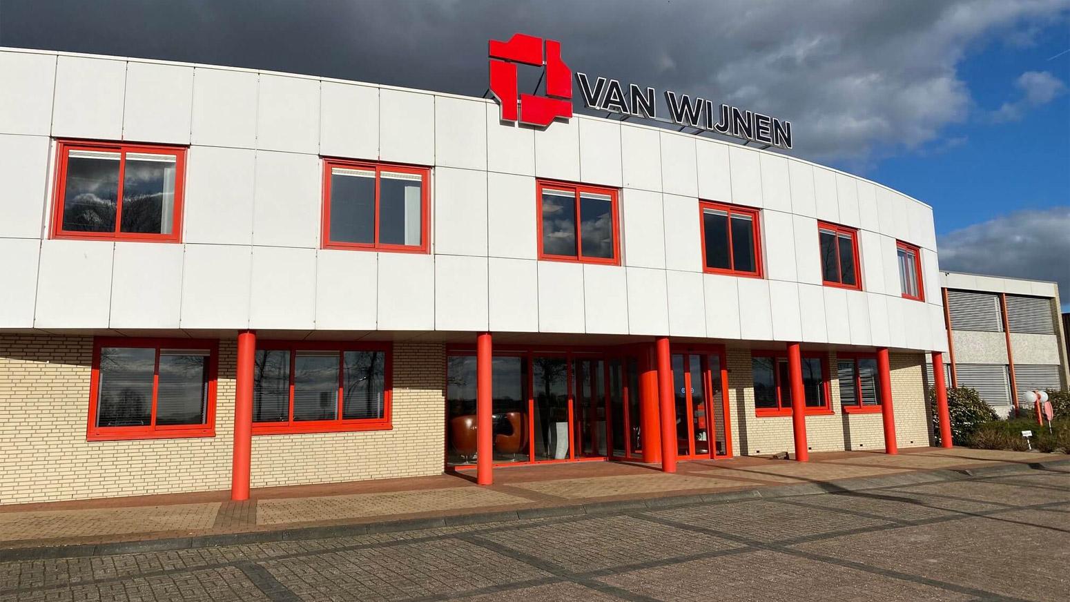 Gebouw Van Van Wijnen Smart Frames B.V. In Gorredijk